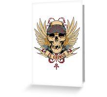 El Gringo Greeting Card
