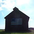 Betsy Ross Barn by Sally P  Moore