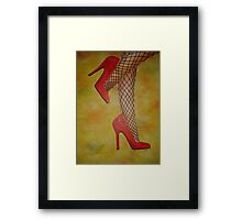 Goody Two Shoes Framed Print