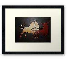 Bullfight 1 Framed Print