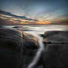 silver ocean stream by Hogne