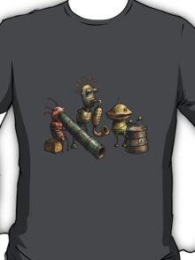 Machinarium's Jazz Band T-Shirt