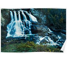 Upper Cullasaja Falls  Poster