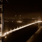 the Golden Gate Bridge by Lucas Hasserjian