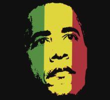 Barack Obama Green Gold and Red t shirt by barackobama
