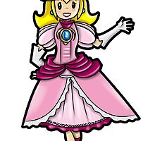 Princess Peach by WarpZoneGraphic