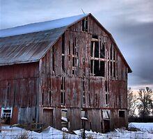 Vanishing Ontario - Stone Mills Barn 3 by Allen Lucas