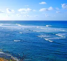 Diamond Head Surf by kevin smith  skystudiohawaii