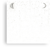 You're My Moon and Stars Canvas Print