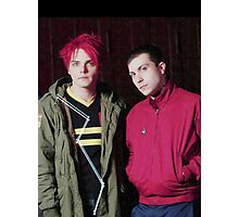 Frank and Gerard Photographic Print