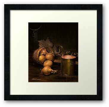 Old Masters Series (print 3) by Alf Caruana