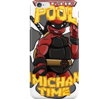 Teenage Mutant Ninja Pool! iPhone Case/Skin