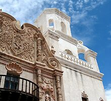 San Xavier del Bac Mission, Tucson, Arizona, USA by BHarrisonArts