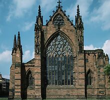 Carlisle Cathedral Cumbria England 198405310002  by Fred Mitchell