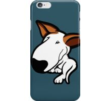 Ginger Ears English Bull Terrier Puppy iPhone Case/Skin