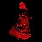 Red Rose Snow White by Serdd