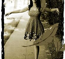 Dancing with leaves by artsphotoshop