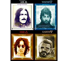 Fab Four Elements in Color Photographic Print