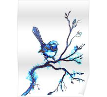 Simply Blue Poster