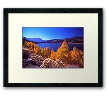 June Lake Framed Print
