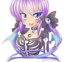 Creepy Cute Anime Girl by cynicalpancake