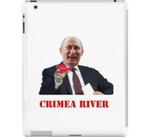 Crimea River Vladimir Putin iPad Case/Skin