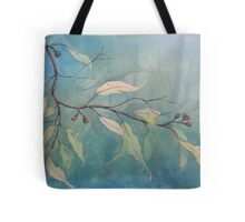 Watercolour: Gum leaves ethereal Tote Bag
