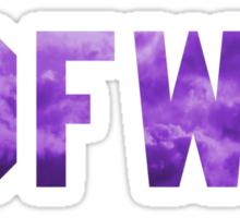 Big Sean 'IDFWU' Purple Clouds Sticker