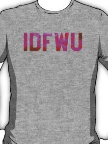 Big Sean 'IDFWU' Red/Pink Clouds T-Shirt