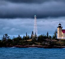 Copper Harbor Lighthouse by Scott Denny