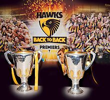 Back to Back Premiers by Peter Evans