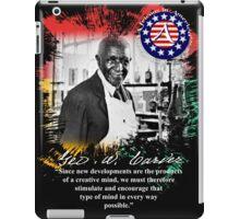 george washington carver iPad Case/Skin