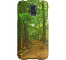 Peaceful Green Trees - Impressions of Forests Samsung Galaxy Case/Skin