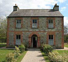 Irish farmhouse by John Quinn