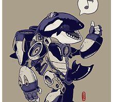 Cyb-Orca by Jordan Lewerissa