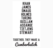 Together, They Make A Cumberbatch by CumberTees