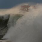 high waves - olas altas by Bernhard Matejka