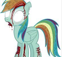 Ponies Zombie by BubbleIt