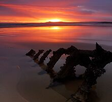 Low tide dawn by Blackgull
