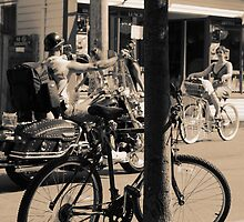Town of Bikes. by capecodart