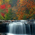 Hooker Falls, South Carolina by fauselr