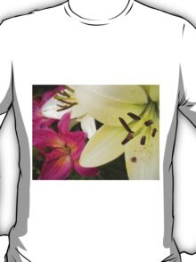 White Lily in the garden 6 T-Shirt