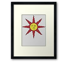 Dark Souls Solaire Of Astora Sunbro Framed Print
