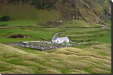 Lagg church view by John Quinn