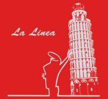 la linea tower of pisa by hottehue