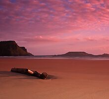 Rhossili Beach by Andrew Doggett