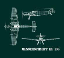 Messerschmitt BF 109 by hottehue