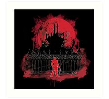 What a Horrible Night to Have a Curse Art Print