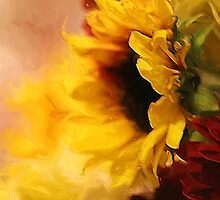*Sunflowers Impression Painting* by Darlene Lankford Honeycutt