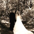 Happy Couple..In Sepia by Stacey Dionne